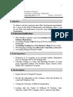 Updated CV Rameshwor