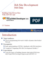 Beginning Web Site Development - Module 2
