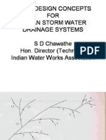 Concepts Urban Storm Water Drainage Systems