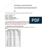 Pse Trading Rules