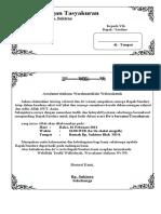 contoh undangan tasyakuran
