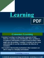 Learning & Memory in Consumer Behaviour