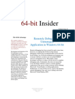 64-Bit Insider Volume 1 Issue 10