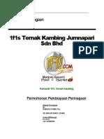 Pelan Perniagaan 1f1s Ternak Kambing Jumnapari Sdn Bhd