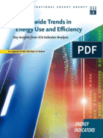 Worldwide Trends in Energy Use and Efficiency IEA