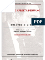 Boletin San Borja 009-2010