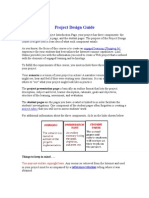 Project Design Guide
