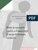 2002_Métodos transcripc y análisis