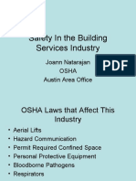 Safety in Building Services