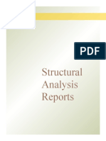 Structural Analysis Reports