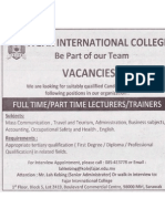 FIC Lecturer