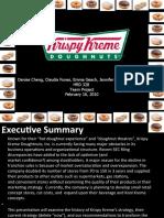 HRD 328 Team Project - Krispy Kreme