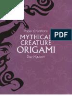 Duy Nguyen - Mythical Creture Origami (Revised)