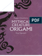 Duy Nguyen - Mythical Creture Origami (Revised)