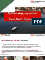 TEDX Basel Sponsorship Presentation