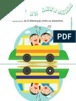 Viagem de Autocarro - Diferenças