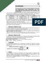 Cuadernillo de actividades de QUIMICA para 1º año POLIMODAL o 3º de la E. E. S. Año 2011