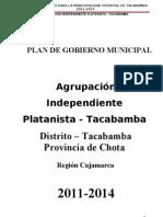 Plan de Gobierno-chota Cajamarca