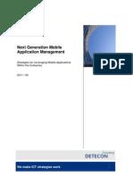 Detecon Opinion Paper Next-Generation Mobile Application Management