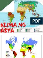 Klima ng Asya