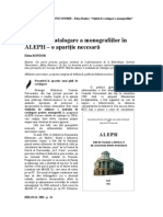 Catalogare ALEPH 6-tendinte