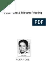 Poka Yoke & Mistake Proofing