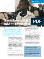 The Challenge of Social Inclusion in Digital Mozambique