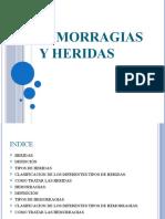 HEMORRAGIAS Y HERIDAS
