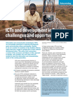 ICTs and development in Zambia
