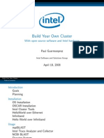 Intel - Build Your Own Cluster With Open Source Software and Intel Hardware