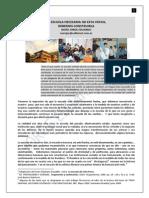 10. LA ESCUELA DEL FUTURO + LA RECONSTRUCCION NECESARIA.