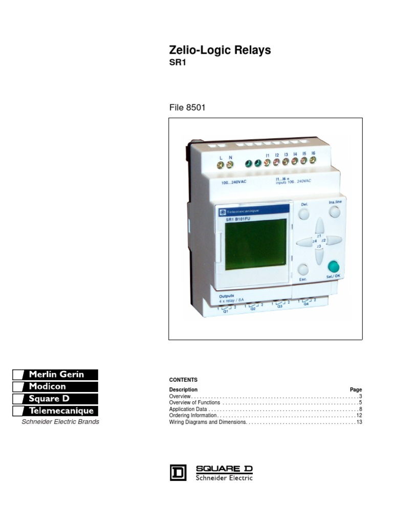 Zelio Smart Relay Wiring Diagram Plc Switch