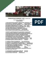 Founder Members,Ponkunnam Farmers' Club(Pon Farm)