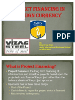 Project Financing in Foreign Currency