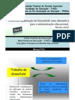 PARTE II _Slids -Teoria da organização de Greenfield