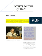 Scientists on the Quran
