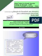 PARTE III _Slids -Teoria da organização de Greenfield