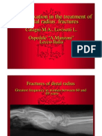 Bipolar fixation in the treatment of distal radius fractures. Catagni M.A., Lovisetti L.