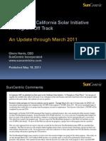 SunCentric CSI Report May 2011