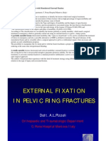 Pelvic Ring Fractures. Treatment with Monolateral External Fixation. A.Pizzoli, L.Renzi Brivio