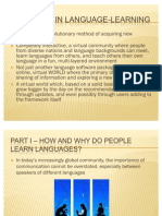 A New Era in Language-learning