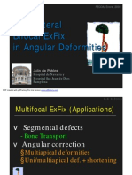 Monolateral Bifocal ExFix for Correction of Angular Deformities. Julio de Pablos