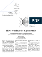 How to Select Nozzle