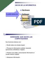 Hardware, Software, Elemento Humano
