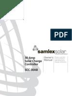 SamlexsolarSCC 30AB Manual