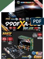 Gigabyte GA-990FXA-UD5 Motherboard
