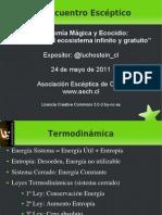 Diapositivas de la presentación del XV Encuentro Escéptico