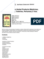 Handbook on Herbal Products Medicines_ Cosmetics_ Toiletries_ Perfumes) 2 Vols.