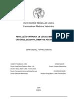 Resolução Cirúrgica De Cólicas Em Equinos