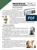 Apostila de Filosofia - EJA 3ª série - Ensino Médio